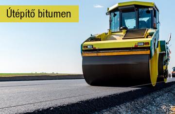 Recom Park útépítő bitumen